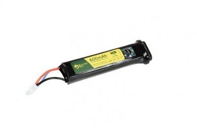 Baterija Li-Po 7,4V 600mAh 20C AEP
