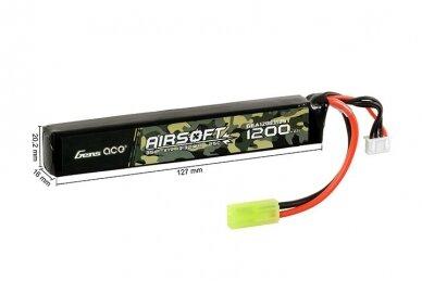 Baterija LiPo 11.1v 1200mAh 25/50C 2