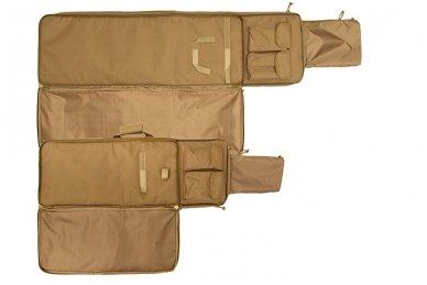 Dvigubas medžiaginis ginklų transportavimo krepšys 47 11