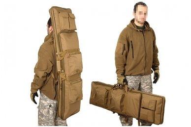 Dvigubas medžiaginis ginklų transportavimo krepšys 47 12