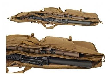 Dvigubas medžiaginis ginklų transportavimo krepšys 47 7
