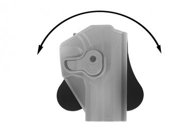 El. pistoleto CM127 polimerinis dėklas 10