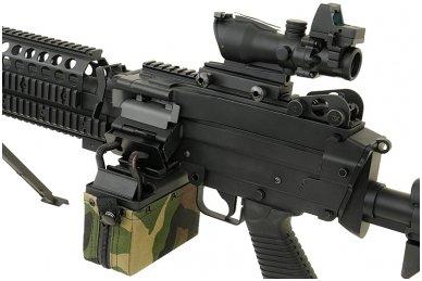 Elektrinė dėtuvė airsoft kulkosvaidžiui M249 - WOODLAND [A&K] 1500 šovinių 10