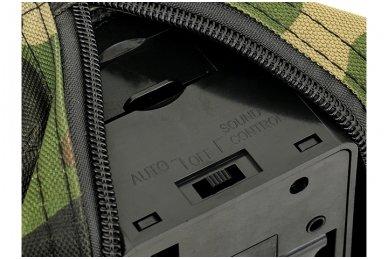 Elektrinė dėtuvė airsoft kulkosvaidžiui M249 - WOODLAND [A&K] 1500 šovinių 7