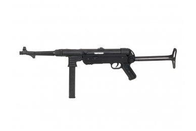Airsoftinis automatas MP40 (juodas) 3