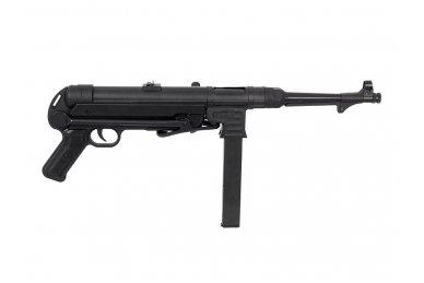 Airsoftinis automatas MP40 (juodas) 4