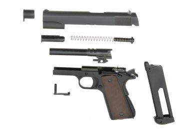 Airsoftinis pistoletas 1911 CO2 8