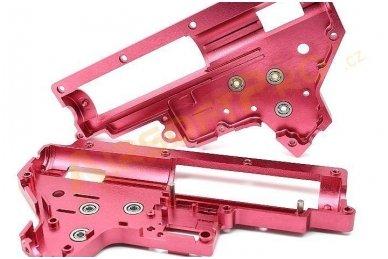 Aliuminis Gearbox korpuso komplektas V2  su 8mm guoliais 4