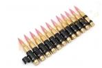 Įmitacinė 5.56mm M249 šovinių juostą