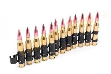 Įmitacinė 5.56mm M249 šovinių juostą 2