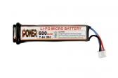 Lipo baterija 680mah 7.4v AEP