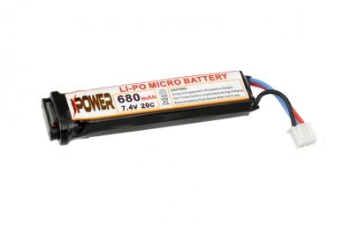 Lipo baterija 680mah 7.4v AEP 2