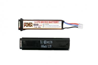 Lipo baterija 680mah 7.4v AEP 3