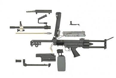 Kulkosvaidis airsoft M249 PARA 8