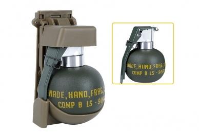 M67 Granatos imitacija su plastikiniu dėklu