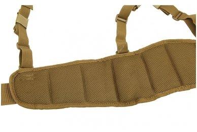 """""""Patrol belt"""" molle diržas su petnešomis multicam 3"""