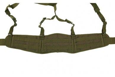 """Patrol belt"" molle diržas su petnešomis (OD) 2"