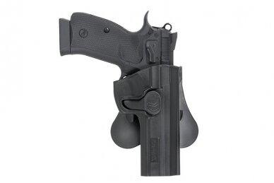 Pistoleto CZ 75 SP-01 polimerinis dėklas 6