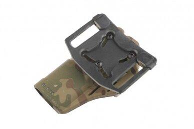 Pistoleto polimerinis dėklas Glock serijai 2