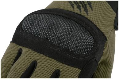 Shield taktinės pirštinės - Žalios spalvos 3