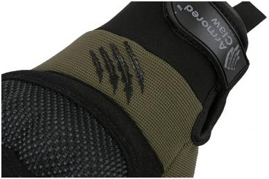 Shield taktinės pirštinės - Žalios spalvos 4