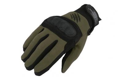 Shield taktinės pirštinės - Žalios spalvos