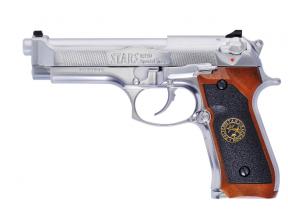 Airsoft Pistol M92 BioHazard Silver