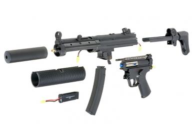 Šratasvydžio automatas MP5 SD6 10