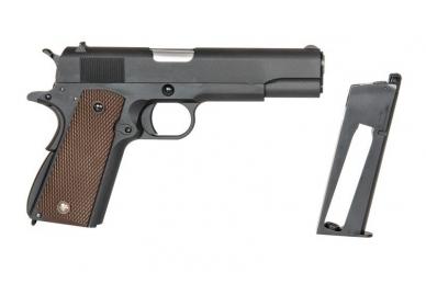 Šratasvydžio pistoletas 1911A CO2 6