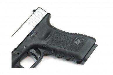 Šratasvydžio pistoletas Glock 17 Gen. 4 (Sidabrinis)