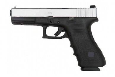 Šratasvydžio pistoletas Glock 17 Gen. 4 (Sidabrinis) 3