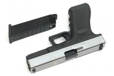 Šratasvydžio pistoletas Glock 17 Gen. 4 (Sidabrinis) 4
