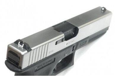 Šratasvydžio pistoletas Glock 17 Gen. 4 (Sidabrinis) 2