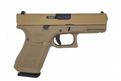 Šratasvydžio pistoletas Glock 19 Gen 5 (Smėlio) 2