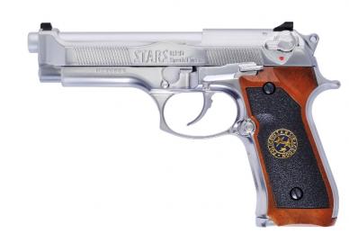 Šratasvydžio pistoletas M92 BioHazard Silver