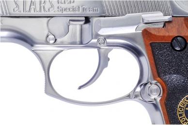 Šratasvydžio pistoletas M92 BioHazard Silver 4