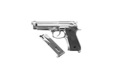 Šratasvydžio pistoletas M92S CO2 Chrome 6