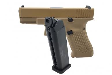 Šratasvydžio pistoletas WE Glock 19 XL Gen. 5 (Tan) 5