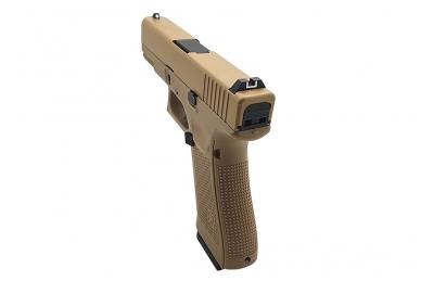Šratasvydžio pistoletas WE Glock 19 XL Gen. 5 (Tan) 4