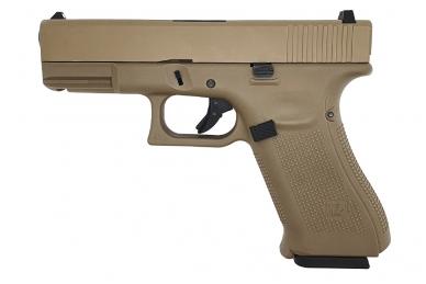 Šratasvydžio pistoletas WE Glock 19 XL Gen. 5 (Tan)