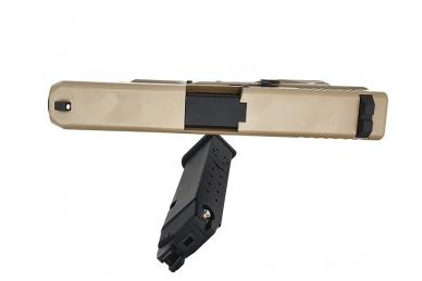 Šratasvydžio pistoletas WE Glock 19 XL Gen. 5 (Tan) 6