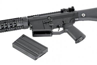 Šratasvydžio pusiau-automatinis snaiperinis šautuvas SR-25 7