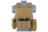 Taktinė liemenė Lightweight AAV FSBE Assault Vest System V2 (TAN)