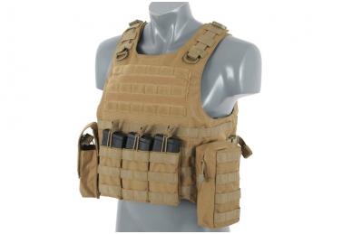 Taktinė liemenė Lightweight AAV FSBE Assault Vest System V2 (TAN) 2