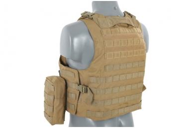Taktinė liemenė Lightweight AAV FSBE Assault Vest System V2 (TAN) 5