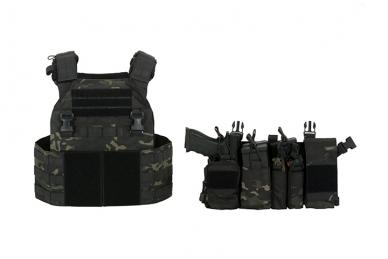 Taktinė liemenė Buckle Up Assault Plate Carrier Cummerbund (OD) 7