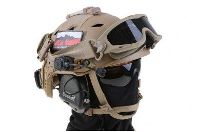 Taktinis šalmas X-Shield FAST PJ Olive 7