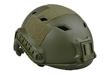 Taktinis šalmas X-Shield FAST PJ Olive