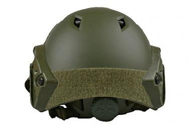 Taktinis šalmas X-Shield FAST PJ Olive 2