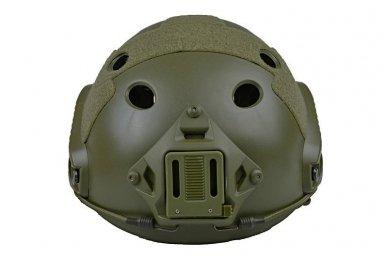 Taktinis šalmas X-Shield FAST PJ Olive 4